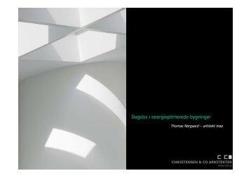 Dagslys i energioptimerede bygninger - Lysnet