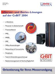 CeBIT Sonderheft 2004