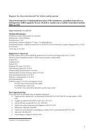 Rapport fra tilsyn/etterkontroll for Jølster statlig mottak - UDI