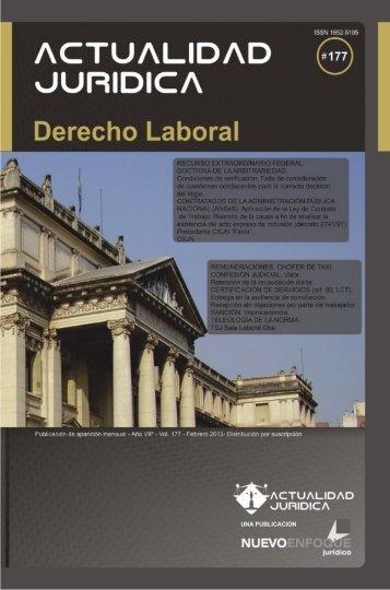 Descargar Indice - Actualidad Jurídica