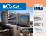 INTOUCH - Baylor Health Care System