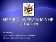 Namibia - supply chain HR situation - People that Deliver