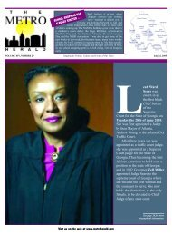 Leah Ward Sears - The Metro Herald