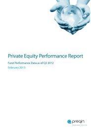 Q2 2012 Private Equity Performance Update - Preqin