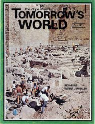 Tomorrows World 1971 (Vol III No 10) Oct_w - Herbert W. Armstrong