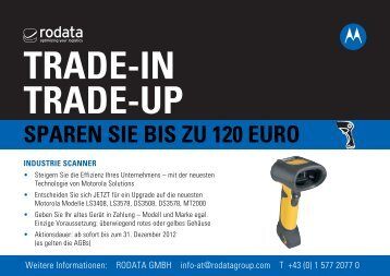 TRADE-IN TRADE-UP - Rodata GmbH