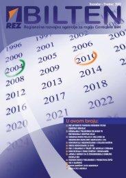 REZ Bilten: Decembar / Prosinac 2009