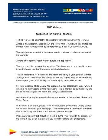HMS Victory Risk Assessment - Portsmouth Historic Dockyard