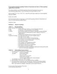 Examenreglement bacheloropleiding TN met minor en ...
