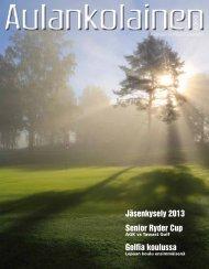 Aulankolainen 2/2013 - Golfpiste.com