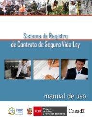 Guía del usuario - Ministerio del Trabajo y Promoción del Empleo