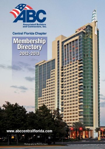 Building America from the Ground Up - Central Florida Chapter ...