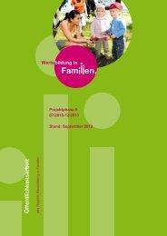 Teil I - Wertebildung in Familien