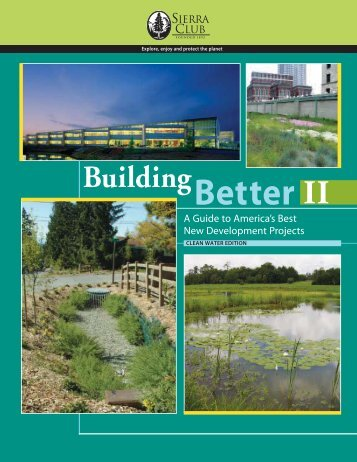 Sierra Club Building Better II - Pima County Flood Control District