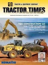 T&K CONSTRUCTION LLC - TEC Tractor Times