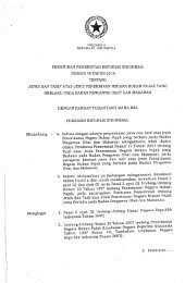 PP Nomor 48 Tahun 2010 Tentang Jenis dan Tarif atas Jenis PNBP ...
