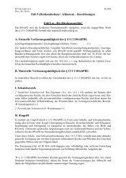 Fall 9 - Lehrstuhl für Öffentliches Recht II Prof. Dr. Markus Möstl