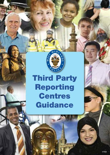 Third Party Reporting Centres Guidance - West Midlands Police and ...