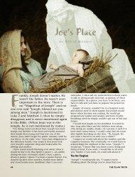 Joe's Place - Plain Truth Ministries