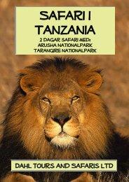Tanzania resor med två dagar safari i nordvästra ... - Dahl Safaris