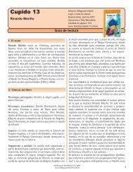 Guía Cupido 13 - Alfaguara Infantil