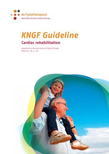 KNGF Guideline Cardiac Rehabilitation