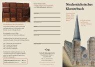 Niedersächsisches Klosterbuch - Verlag für Regionalgeschichte
