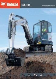 E60-E80- Excavator brochure - Bobcat.eu