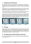 Technischer Beschrieb und Modelle (pdf) - DZ Schliesstechnik GmbH - Page 3