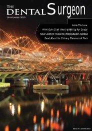 November 2010 - Singapore Dental Association