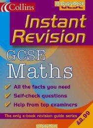 Instant Revision: GCSE Maths - StudyGuide.PK