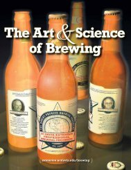 The Art &Science of Brewing - UC Davis Extension
