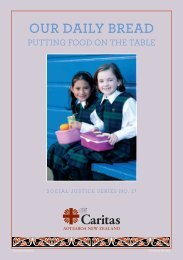Our Daily Bread: Putting food on the table - Caritas