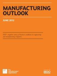 Manufacturing Outlook June 2012 - UK.COM