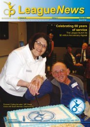 Celebrating 60 years of service - Cerebral Palsy League