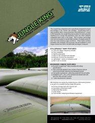 Jungle King Tank - SEI Industries Ltd.
