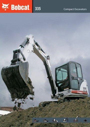 Compact Excavators - Bobcat.eu
