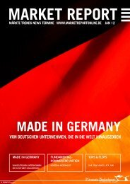 MADE IN GERMANY - Hanseatic Brokerhouse