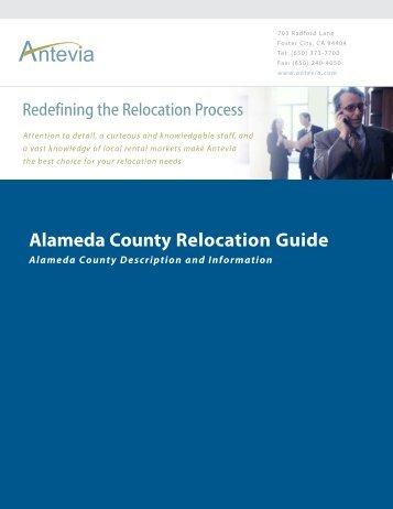 Alameda County Relocation Guide - Antevia