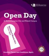 Walsall Campus - University of Wolverhampton