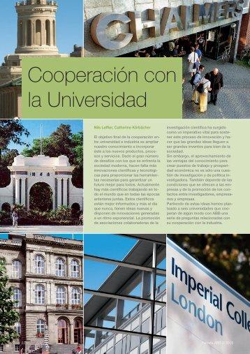 Cooperación con la Universidad - Contact ABB