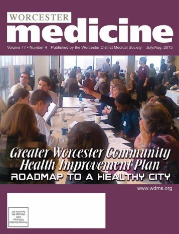 Greater Worcester Community Health Improvement Plan