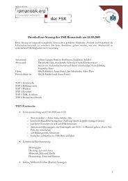 FSR Protokoll 24.09.2009