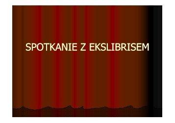 Spotkanie z ekslibrisem - Gimnazjum nr 18 w Lublinie