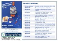 NEW Carousel 6 Place 8 page - Interchim