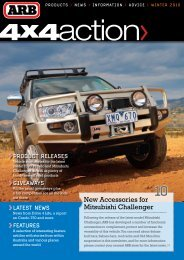 New Accessories for Mitsubishi Challenger - ARB