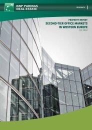 second-tier office markets in western europe - QBusiness