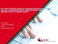 (NVAO): Das neue niederländische Akkredtierungssystem