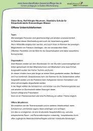 38 KB, Format: PDF - Besondere Kinder - besondere Wege