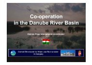 Co-operation in the Danube River Basin - INBO